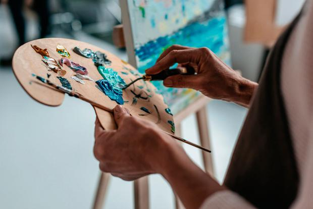 You can learn most of the basics of painting in a one-day session