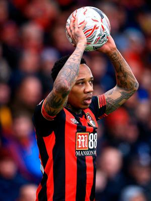 Bournemouth's Nathaniel Clyne during the Emirates FA Cup, third round match at the Vitality Stadium, Bournemouth. Mark Kerton/PA Wire