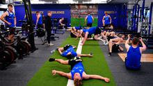 The gym at the Ken Wall Centre of Excellence. Photo by Seb Daly/Sportsfile