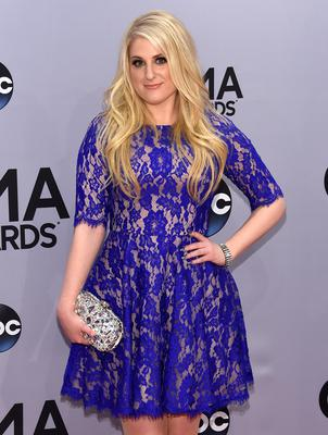 Meghan Trainor attends the 48th annual CMA Awards at the Bridgestone Arena on November 5, 2014 in Nashville, Tennessee.  (Photo by Larry Busacca/Getty Images)