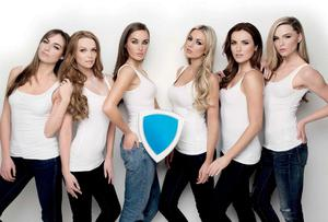 Some of Ireland's most famous models helped launch the campaign
