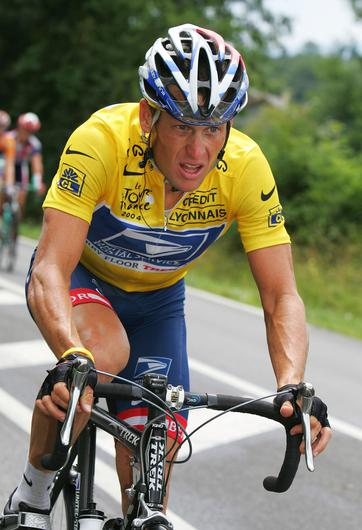 All seven of Lance Armstrong's Tour de France results were expunged. Photo: Getty