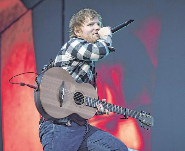Ed Sheeran was one of the headline acts to draw big crowds to the 3Arena