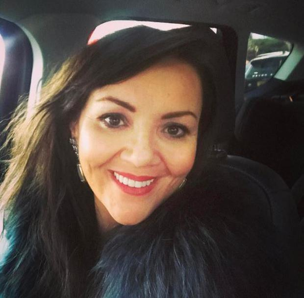 Martine McCutcheon was diagnosed with Lyme disease Photo: Instagram
