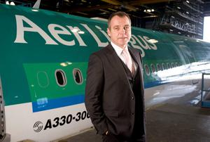 Christoph Mueller, chief executive officer of Aer Lingus