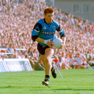 Dessie Farrell on the charge during the 1995 All-Ireland final. Photo: Ray McManus/Sportsfile