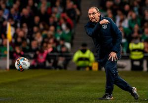 Martin O'Neill will be eager to get the ball rolling again when the competitive action returns in June. Photo: SPORTSFILE