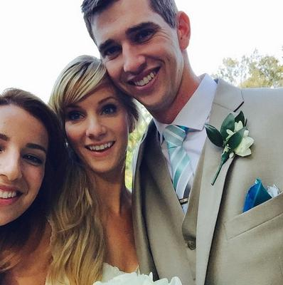 Heather Morris' wedding in California. Picture: All Event Planning/Instagram