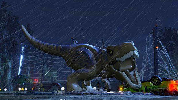 Lego Jurassic World: Recreating the electric fence scene