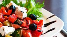 A typical Mediterranean diet includes high intakes of plant-based proteins such as nuts, lentils and beans, whole grains, fish and 'healthy' monounsaturated fats. Photo: Depositphotos