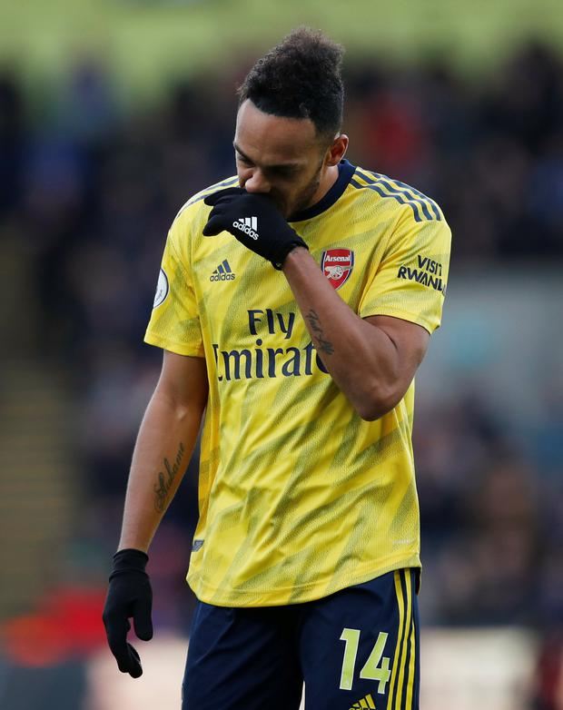 Pierre Emerick Aubameyang will miss vital games for Arsenal