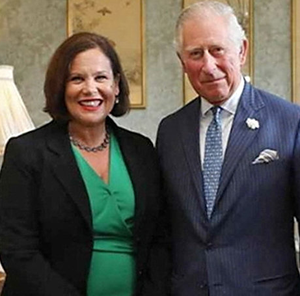 On Prince Charles: '[He] wrote to me in the aftermath [of Covid-19] to wish me well, which I thought was nice ... So, if you want a measure of how much things have changed, there's one, I suppose, small example'