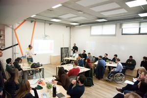 Talent Garden - Inside a 'Masterclass' lecture for students