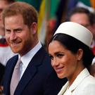 Harry and Meghan. AP Photo/Frank Augstein
