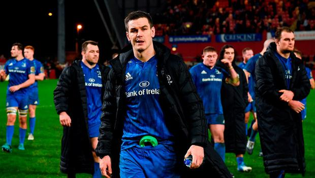 Jonathan Sexton will miss Leinster's Champions Cup clash against Toulouse