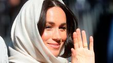 Meghan, Duchess of Sussex visits Auwal Mosque on Heritage Day with Prince Harry, Duke of Sussex during their royal tour of South Africa on September 24, 2019 in Cape Town, South Africa