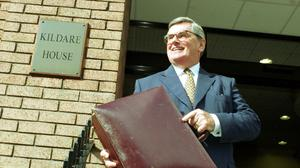 Controversy: Former finance minister Ray MacSharry. Photo: Graham Hughes/Photocall Ireland