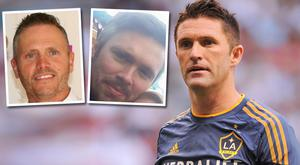 Brothers Alan, left, and Steve Harris are cousins of Irish footballer Robbie Keane
