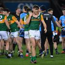David Clifford kicked a late equaliser as Kerry drew with Dublin in a fiery opening to the National Football League. Photo by Ramsey Cardy/Sportsfile