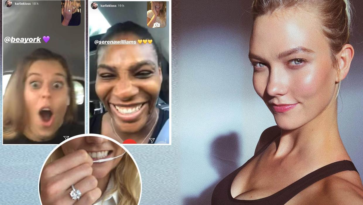 The Best Part Karlie Kloss Reveals Stunning Engagement Ring To