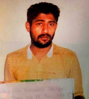 Murder suspect Vikat Bhagat will also be charged with rape