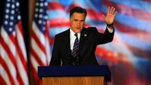 Comeback Kid?  Mitt Romney is now being seen in a better light. Photo by Joe Raedle/Getty Images
