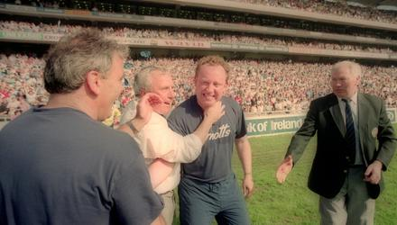 Pat O'Neill led Dublin to an All-Ireland title in his final season in charge in 1995. Photo by Ray McManus/Sportsfile