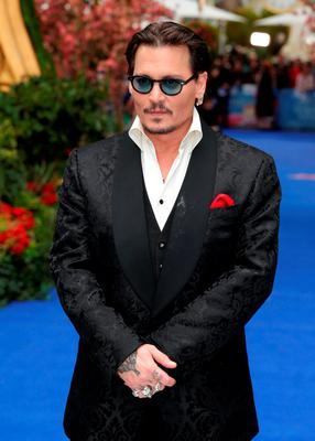 Johnny Depp attending the Alice Through The Looking Glass European premiere, at the Odeon Leicester Square, London
