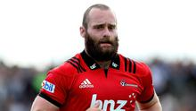 Oliver Jager pictured in action for Crusaders