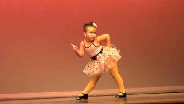 Johanna Colon wowed with her dance routine to Aretha Franklin's 'Respect'