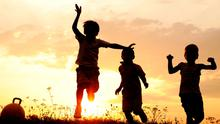 'With time running out before school starts again, let children play and build castles in the air' (stock photo)