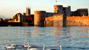 Picture perfect: King John's Castle in Limerick city