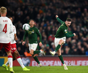 Frustrating: Alan Browne is looking forward to the return of football