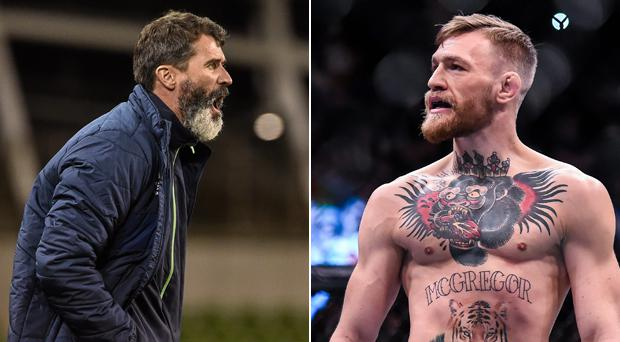 Roy Keane and Conor McGregor