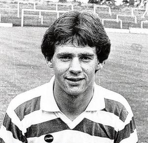 Beglin during his time with Shamrock Rovers