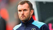 Nathan Jones is back in the managerial hotseat at Luton, just 16 months after leaving the club for Stoke. Photo: Dave Howarth/PA Wire