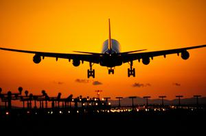 'A whopping 13,000 fewer flights a day are in the air, China being one of the world's biggest airline hubs, accounting for 15pc of all global travel, as people avoid the country' (stock photo)