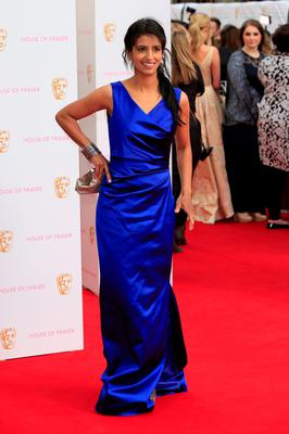 LONDON, ENGLAND - MAY 10: Konnie Huq attends the House of Fraser British Academy Television Awards (BAFTA)at Theatre Royal on May 10, 2015 in London, England.  (Photo by John Phillips/Getty Images)