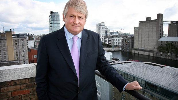 The majority of the report on IBRC dealings with Denis O'Brien (pictured) can be broadcast