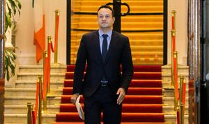 Mr Varadkar will take part in the annual Ireland Funds gala dinner in the US capital tonight. Photo: Gareth Chaney, Collins
