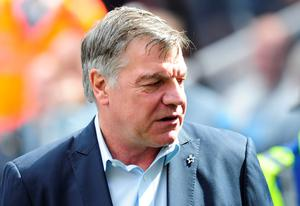Sam Allardyce during the Barclays Premier League match at St James' Park, Newcastle, just days ago has told Sunderland it is too soon for him to consider becoming their head coach, as he is determined to take a break following his departure from West Ham (Owen Humphreys/PA Wire)