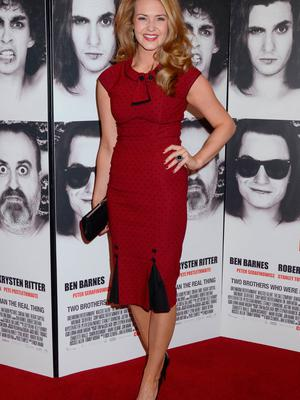 Aoibhin Garrihy at the European Premiere of 'Killing Bono' in 2011