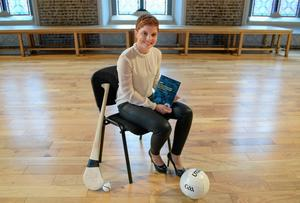 Aoife Lane, chairperson of the new Women's Gaelic Players Association, pictured at their launch