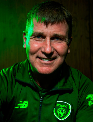 Amazing rise: Stephen Kenny has climbed through the managerial ranks in Ireland to land the top job