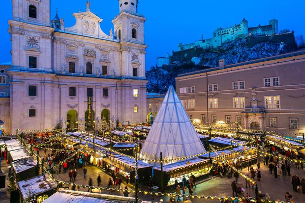 A Christkindl market has been held in Cathedral Square for six centuries