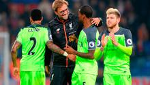 Liverpool manager Jurgen Klopp with Matip