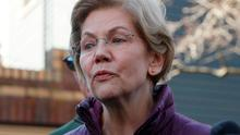 Democratic U.S. Senator Elizabeth Warren. Photo: Brian Snyder/Reuters