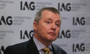 IAG chief executive Willie Walsh (Niall Carson/PA)