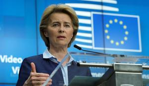 Goal: European Commission president Ursula von der Leyen is a chief architect of the European Union's ambitious 'Green Deal' to tackle climate change. Olivier Hoslet/Pool via REUTERS/File Photo