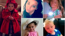 Victims of Clondalkin fire. (From left clockwise) Holly (3), AnneMarie (27), Biddy (aged in her 30s), Jordan (4) and Paris (2) O'Brien